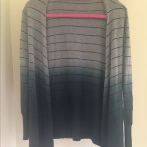 EUC Worthington Ombré Striped Cardigan 👩🏼‍💼